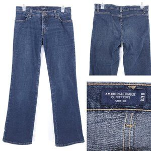 AMERICAN EAGLE Jeans Straight Leg Dark Stretch